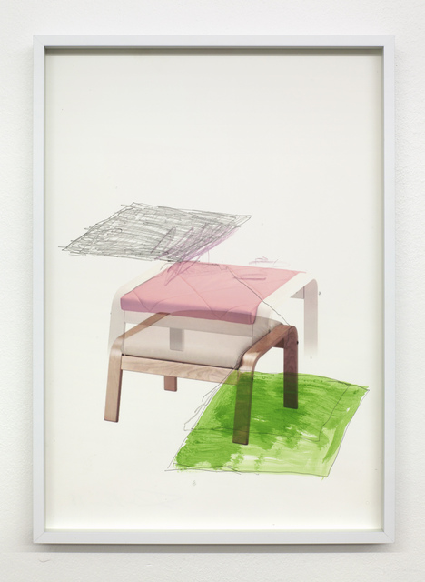 , 'Untitled (POÄNG/low),' 2018, David Risley Gallery