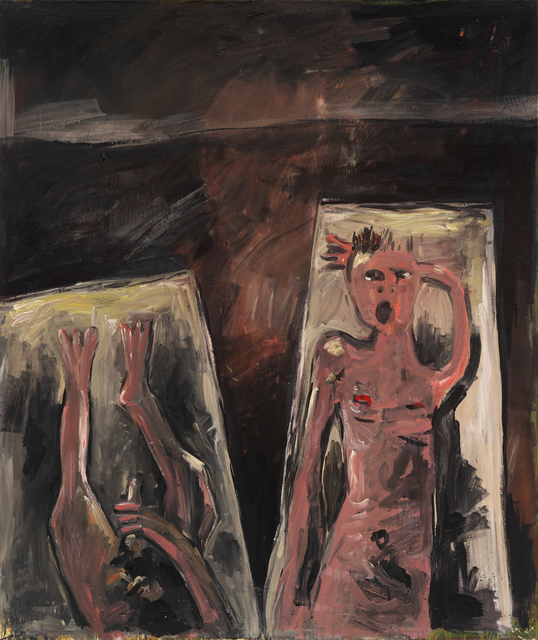 , 'The Bed-Painting II,' 1983, Galerie Andrea Caratsch