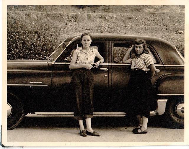 , 'Elizabeth Schön y Elsa Gramcko apoyadas en un automóvil,' 1962, Henrique Faria Fine Art