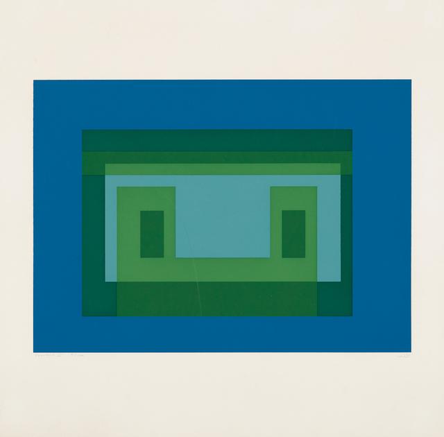 Josef Albers, 'Variant V, from Ten Variants', 1967, Phillips