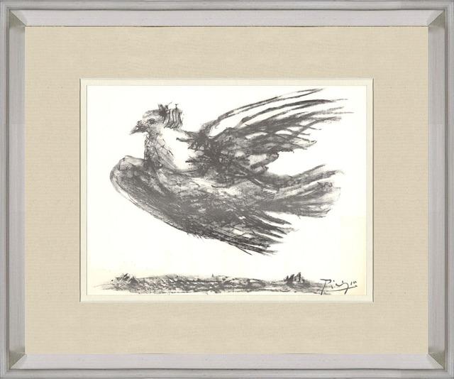 Pablo Picasso, 'La Colombe en Vol', 1974, Print, Lithograph, ArtWise