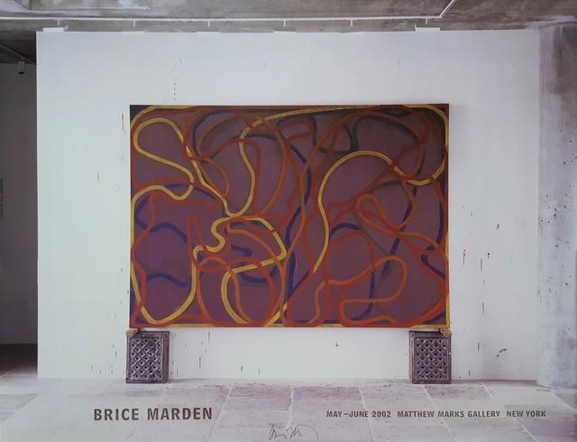 Brice Marden, 'Attendants, Bears, and Rocks Poster (Signed)', 2002, Graves International Art
