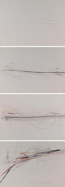 , '4-teilige Auflösung Einer Horizontalen Richtung Landschaft,' 1983, Jeanne Bucher Jaeger