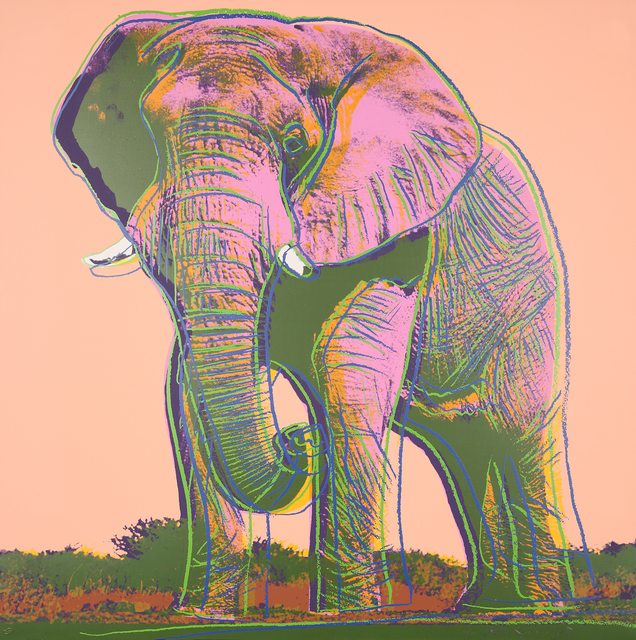 , 'African Elephant,' 1983, Galerie Boisseree
