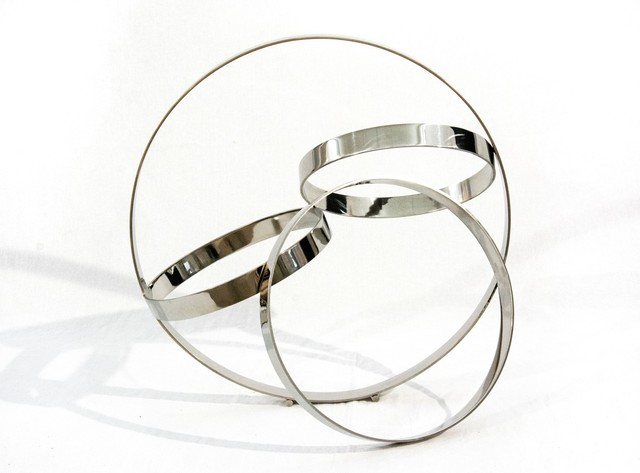 Philippe Pallafray, 'Four Ring Polished Stainless Steel Temps Zero', 2019, Oeno Gallery