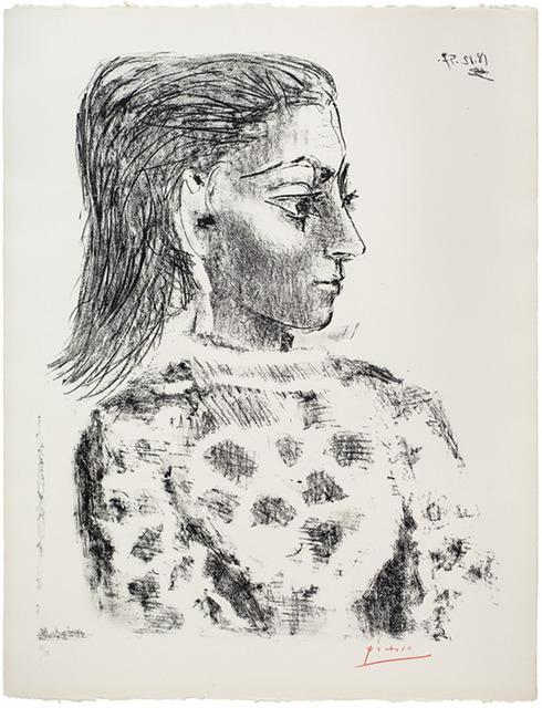 Pablo Picasso, 'Buste au Corsage à Carreaux', 1957, Coskun Fine Art