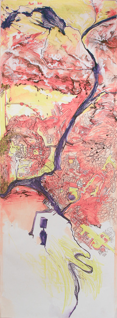 , 'Map (Mountains),' 2010-2012, Shoestring Press
