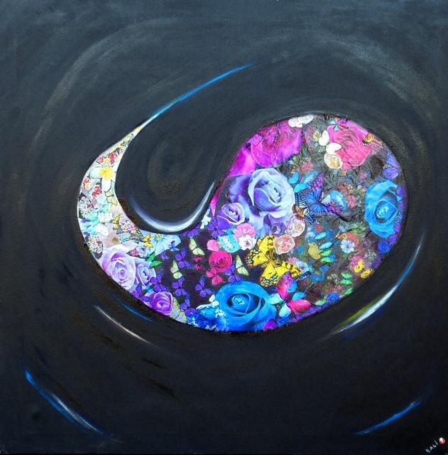 Bali Love Jenkins, 'Genesis', 2015, Painting, Oil & Mixed Media painting on Handmade Canvas, Alessandro Berni Gallery