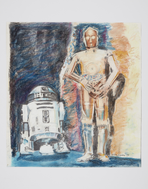 , 'R2D2 AND C3PO,' 1999, Davidson