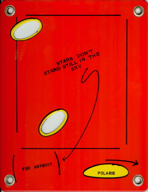 , 'STARS DON'T STAND STILL IN THE SKY (FOR ANYBODY),' 1990, Mai 36 Galerie