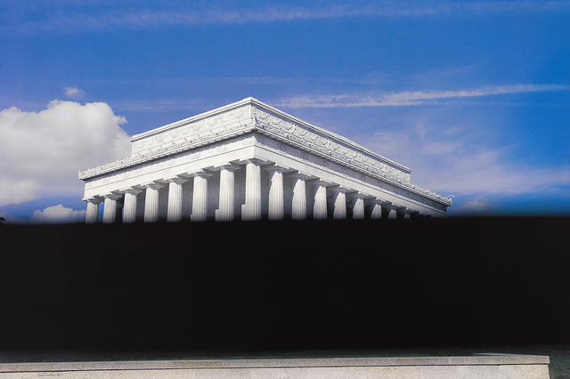 , 'Lincoln Memorial,' 2019, Two Palms
