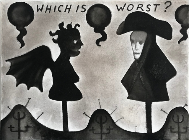 , 'Which is Worst?,' 2016, Galerie Camille