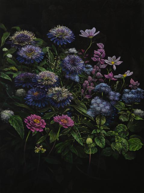 Helena Parada-Kim, 'Violet dahlias', 2019, CHOI&LAGER