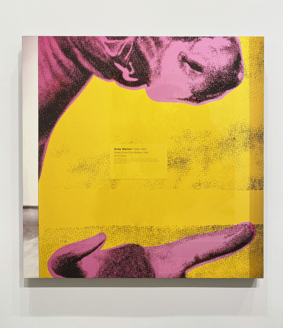 , 'Pink and Yellow and Black II (Green Coca Cola Bottles) from On a Wall, On a Cow, In a Book, In the Mail,,' 1999, Metro Pictures