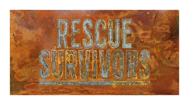 , 'RESCUE SURVIVORS (Echoes Series),' 2016, Marc Azoulay