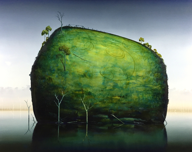 , 'Backtrack,' 2018, Margaret River Art Gallery