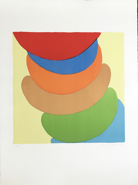 , 'Red, Blue, Orange on Yellow,' 1969, Fairhead Fine Art Limited