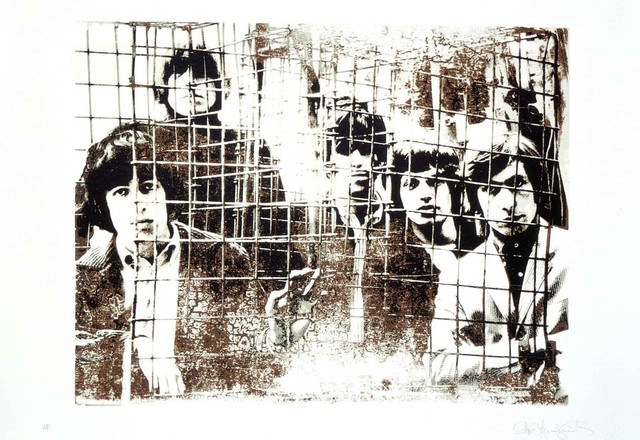 Gered Mankowitz, 'The Rolling Stones 'Caged'', 1994, Belgravia Gallery