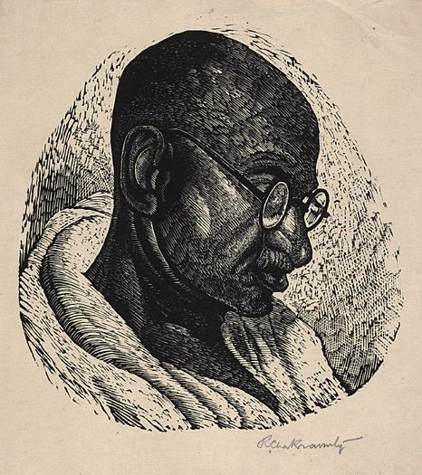, 'Bapuji,' Early 20th Century, Dag Modern