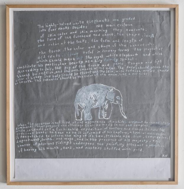 , 'White Elephant/FGT,' 2014, Rosamund Felsen Gallery
