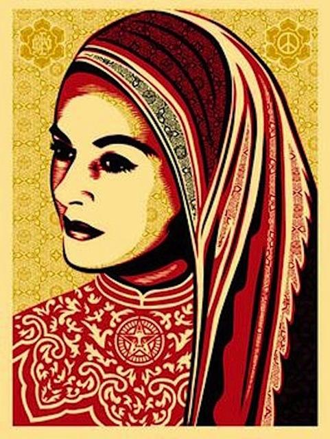 Shepard Fairey (OBEY), 'Peace Woman', 2008, Gregg Shienbaum Fine Art