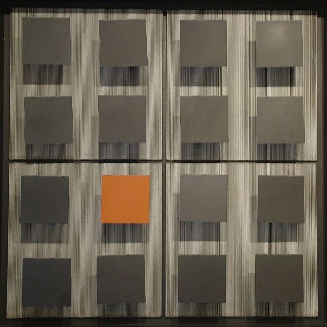 , '1 Brique et 15 Noirs,' 1964, Leon Tovar Gallery