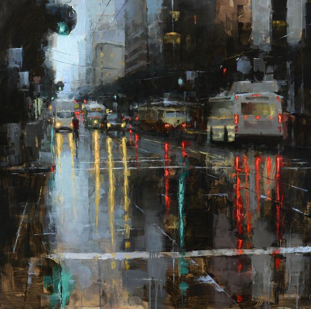 , 'Market Street,' 2018, Abend Gallery
