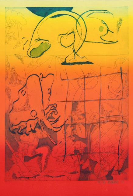 , 'voyage xv4, full tone version,' 2017, Ruttkowski;68
