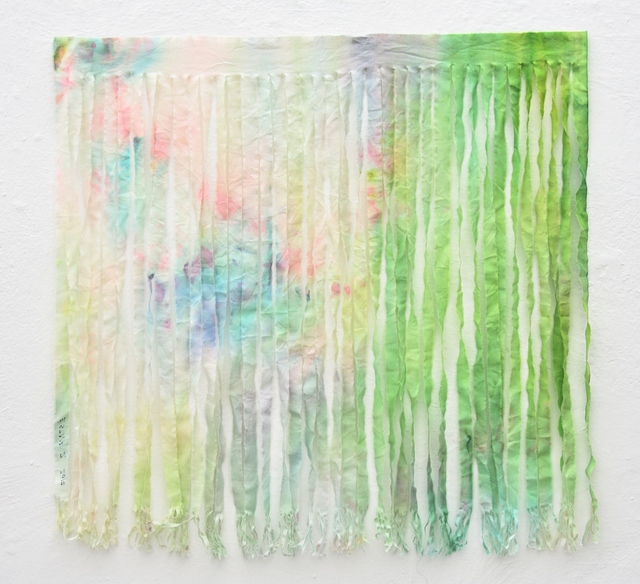 , 'Estna Editions. Paintings as scarfs. No. 2,' 2017, Temnikova & Kasela