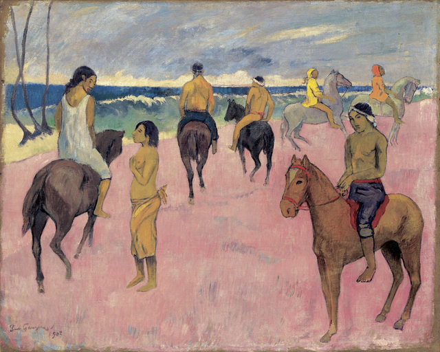 , 'Cavaliers sur la plage (II) (Riders on the Beach (II),' 1902, Fondation Beyeler