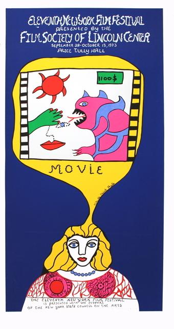 Niki de Saint Phalle, '11th New York Film Festival', 1973, ArtWise