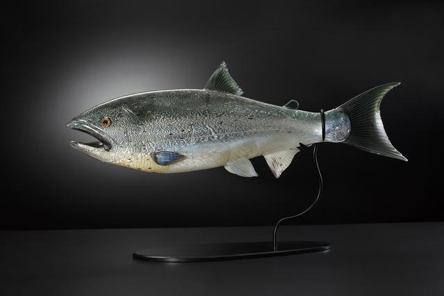 , 'Black Mouth (Chinook Salmon),' 2018, Stonington Gallery