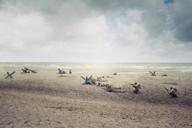 , 'Skegness (England) – D-Day, 1944.,' , Victor Lope Arte Contemporaneo