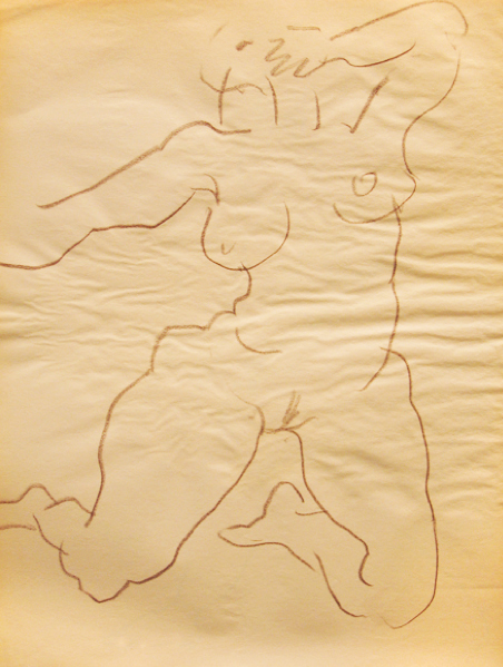 , 'Gesture Drawing 4,' ca. 1984, Ethan Cohen New York