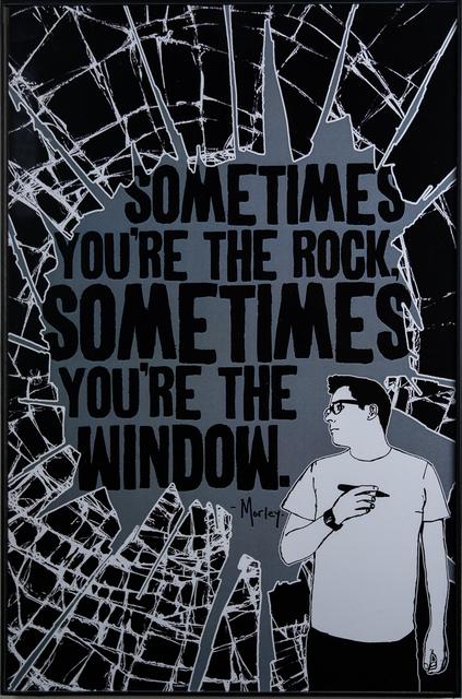 , 'Rock And Window,' 2018, EWKUKS