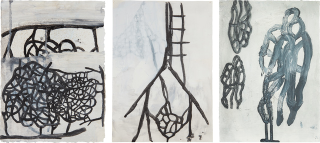 Terry Winters, 'Three works: (i) Genova; (ii) Untitled #10; (iii) Untitled #12', Painting, Gouache and watercolor on paper, Phillips