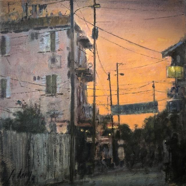 Julyan Davis, 'Sundown', 2019, Painting, Oil on canvas, Helena Fox Fine Art