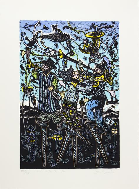 Gilberto Delgado, 'Música de los zancudos', Bernardini Art Gallery & Auction House