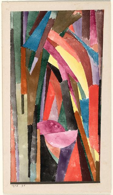 , '(Drôle?) [Gothique joyeux],' 1915, Centre Pompidou