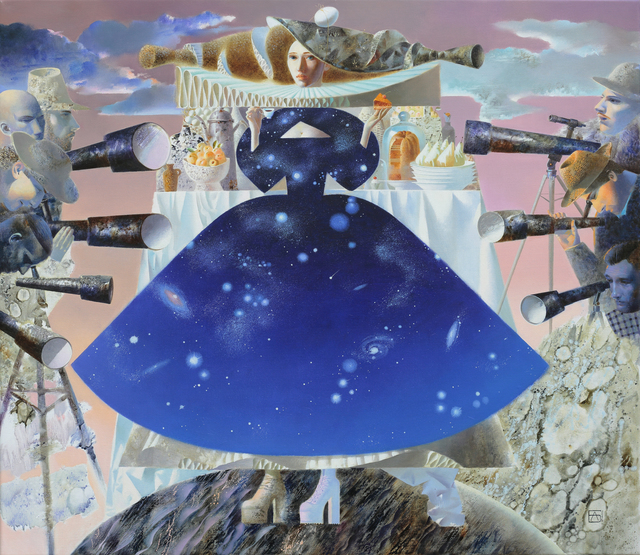 , 'The Woman, Space,' 2016, REDSEA Gallery