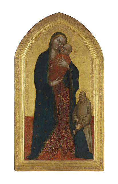 , 'The Madonna and Child with a Franciscan Saint commending a male donor,' , Christie's Old Masters