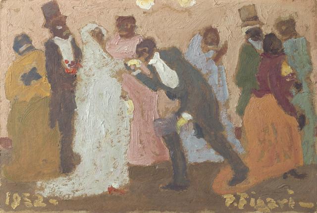 Pedro Figari, 'La reverencia', 1932, Christie's