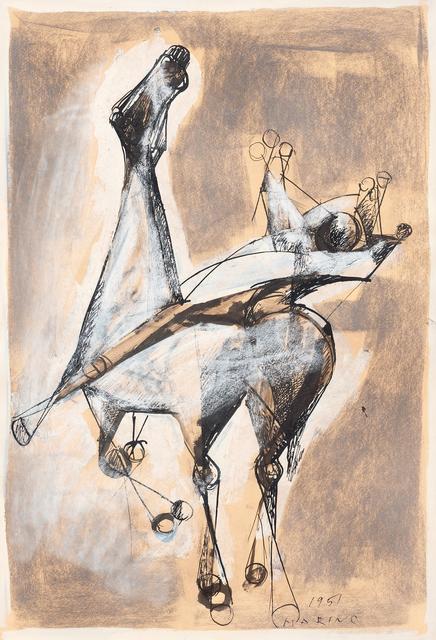 Marino Marini, 'Horse and rider', 1951, Galerie Sophie Scheidecker