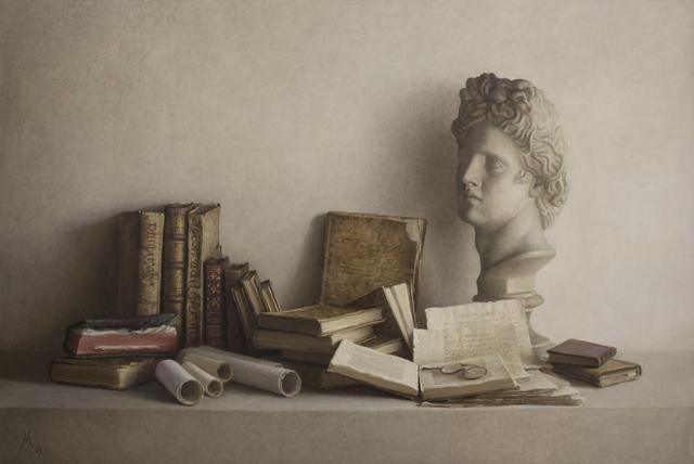Guillermo Muñoz Vera, 'Libros antiguos y escayola II', 2003, Gary Nader