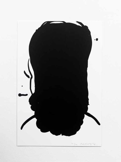 , 'Black Ink #3,' 2017, WILLAS Contemporary