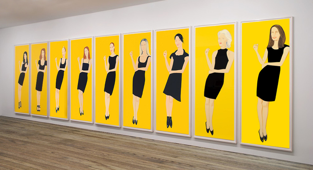 , 'Black Dress, series of 9,' 2015, Nikola Rukaj Gallery