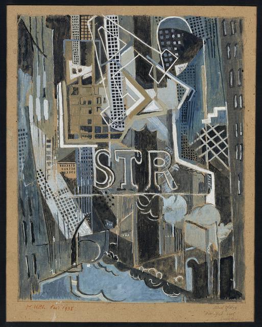 Albert Gleizes, 'Downtown', 1916, DICKINSON