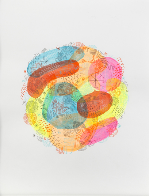 Mike Perry, 'Is This Good Or Bad', 2009, Drawing, Collage or other Work on Paper, Colored pencil and watercolor, Julien's Auctions