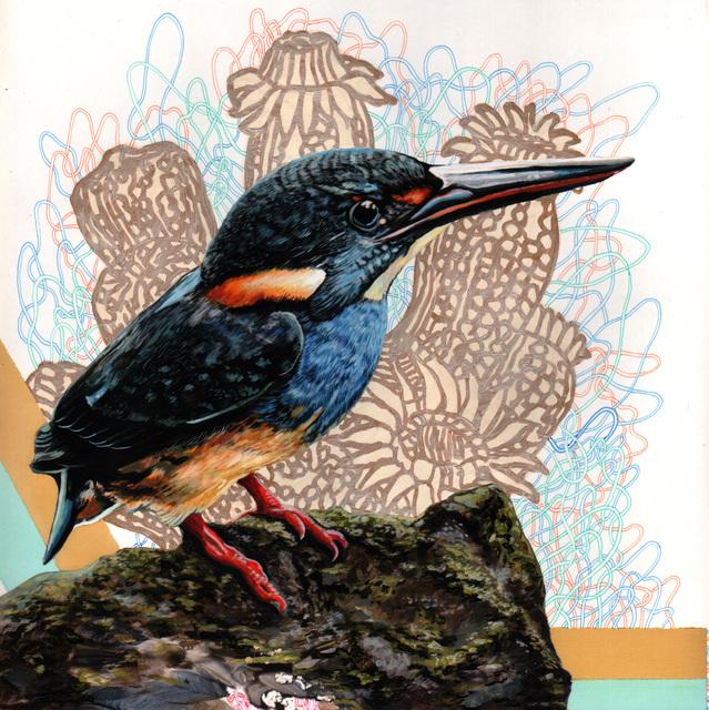 , 'Endangered Bird #146a,' 2015, Jenn Singer Gallery