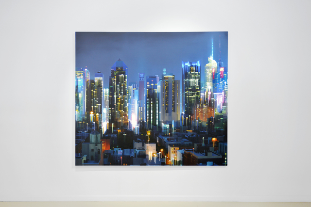 Alexandra Pacula, 'Surfacing Structures', 2016, Painting, Oil on Canvas, Gallery Henoch